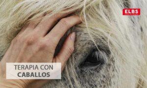 Qué es la terapia con caballos o equinoterapia?