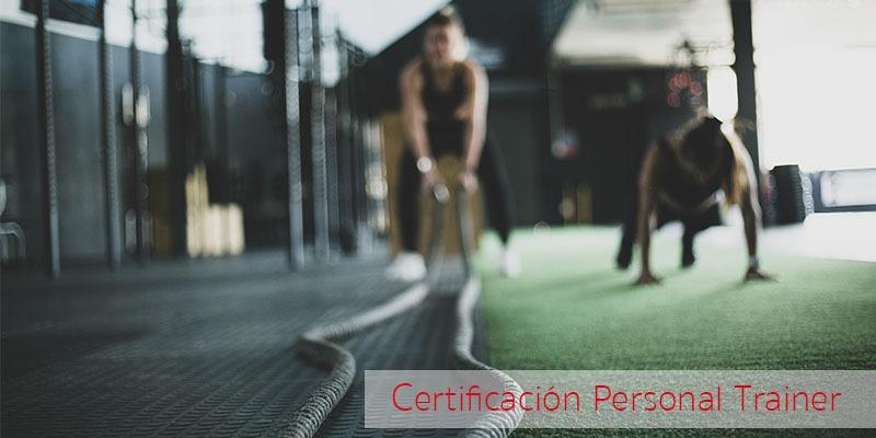 Consigue certificación personal trainer