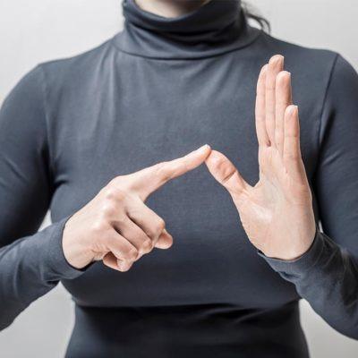 Estudiar Curso Lengua de Signos