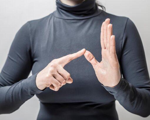 Estudiar Curso Lenguaje de Signos