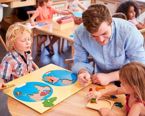 estudiar Experto en pedagogía montessori