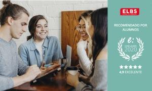 Obtenemos el sello cum laude 2020 gracias a las opiniones Escuela ELBS